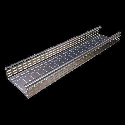 Лоток кабельный перфорированный  100×60×3000×0,60мм
