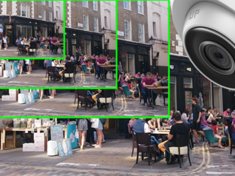 Comparison of CCTV cameras of varying resolution
