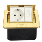 retractable-socket-block-in-the-table